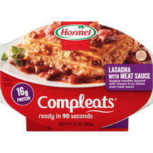 Hormel Compleats Lasagna with Meat Sauce
