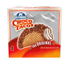 Klondike Choco Taco The Original Light Ice Cream Taco Cones