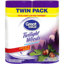 Great Value Twilight Woods Automatic Spray Refills