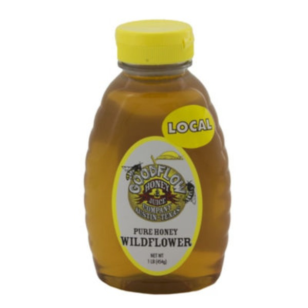 Good Flow Honey Pure Texas Wildflower Honey