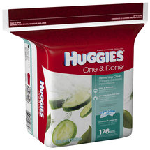 HUGGIES One & Done Refreshing Clean Baby Wipes Refill