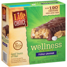 Life Choice Wellness Fudge Graham Nutrition Bars