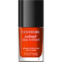 CoverGirl Outlast Stay Brilliant Nail Gloss Fury