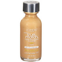 L'Oreal Paris True Match Super-Blendable Liquid Make-Up Caramel Beige