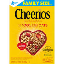 Cheerios Family Size Cereal