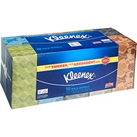 Kleenex 2 Ply Facial Tissues Family Pack