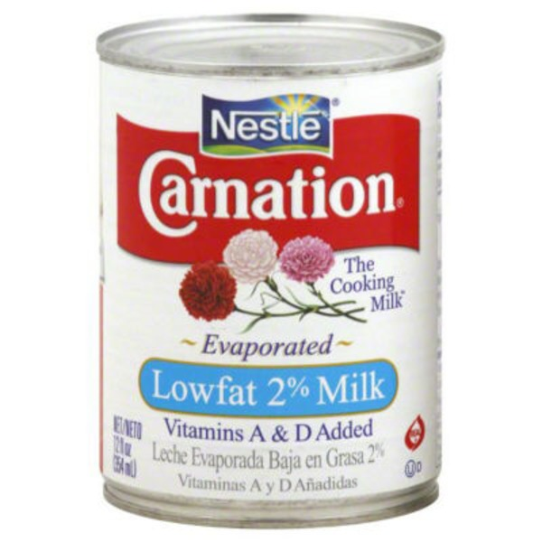 Carnation Lowfat 2% Evaporated Milk