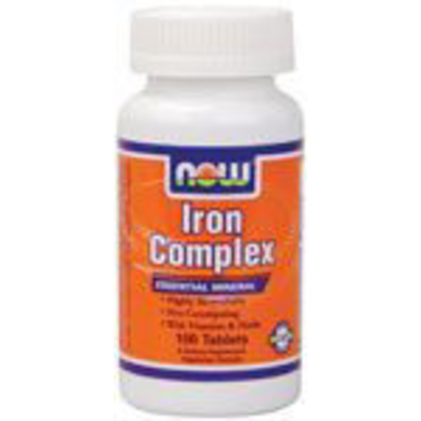 Now Iron Complex Tablets