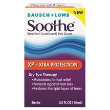 Bausch & Lomb Soothe XP Emollient Lubricant Eye Drops