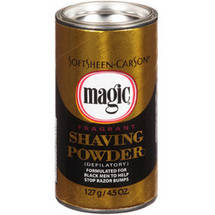 Magic Gold Fragrant Razorless Shaving Powder