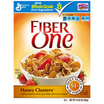 Fiber One Honey Clusters Cereal
