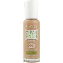 Rimmel Clean Finish Foundation Natural Beige
