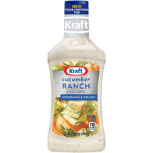Kraft Salad Dressing: Dressing & Dip Cucumber Ranch