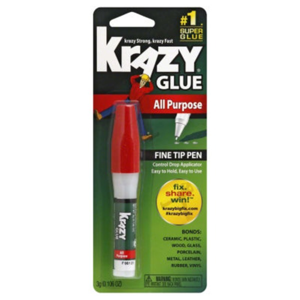 Krazy Glue Instant All Purpose Glue Pen