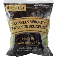 4 Earth Brussels Sprouts