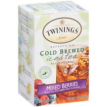 Twinings of London Mixed Berries Refreshing Cold Brewed Iced Tea