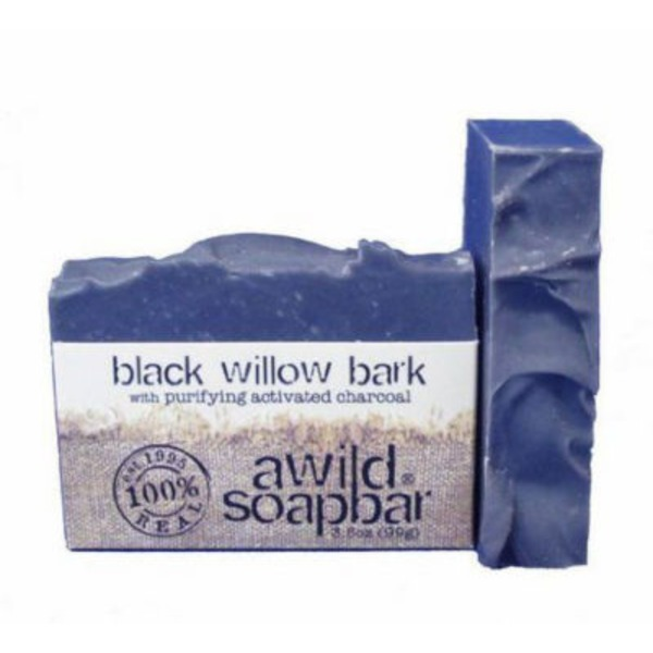 A Wild Soap Bar Black Willow Bark Soap