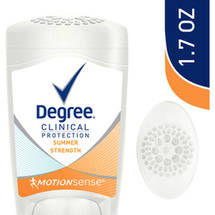 Degree Clinical Protection Summer Strength Anti-Perspirant & Deodorant