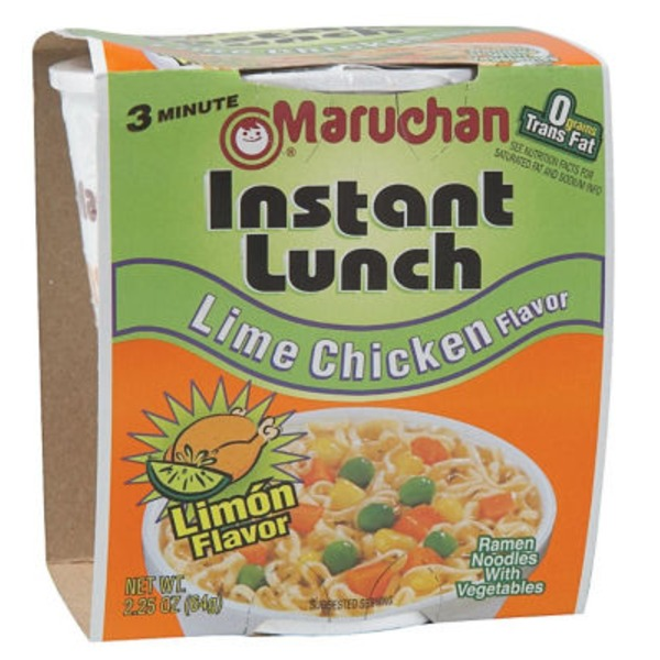 Maruchan Instant Lunch Lime Chicken Ramen Nooles