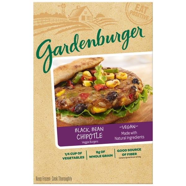 Gardenburger Black Bean Chipotle Veggie Burgers
