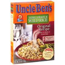 Uncle Ben's Original Recipe Long Grain & Wild Rice