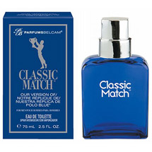 Parfums Belcam Classic Match Version of Polo Blue Eau de Toilette Spray