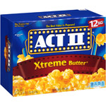 Act II Xtreme Butter Microwave Popcorn