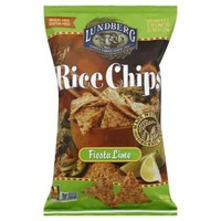 Lundberg Family Farms Fiesta Lime Rice Chips