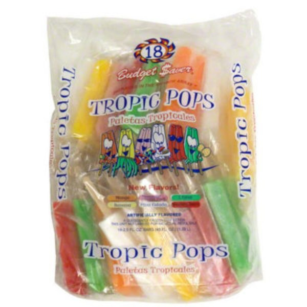Budget Saver Tropical Assorted Twin Pops