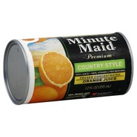 Minute Maid Country Style Frozen Concentrate Orange Juice
