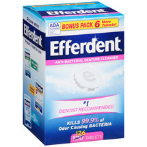 Efferdent Anti-Bacterial Denture Cleanser