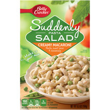 Betty Crocker Suddenly Pasta Salad Creamy Macaroni