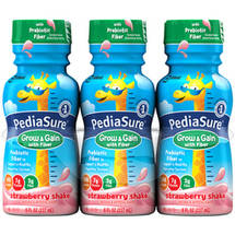 PediaSure Grow & Gain with Fiber Strawberry Shakes