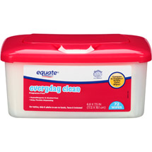 Equate Everyday Clean Fragrance Free Wipes