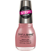 SinfulColors SinfulShine Step 1 Color Nail Color Tan Lines