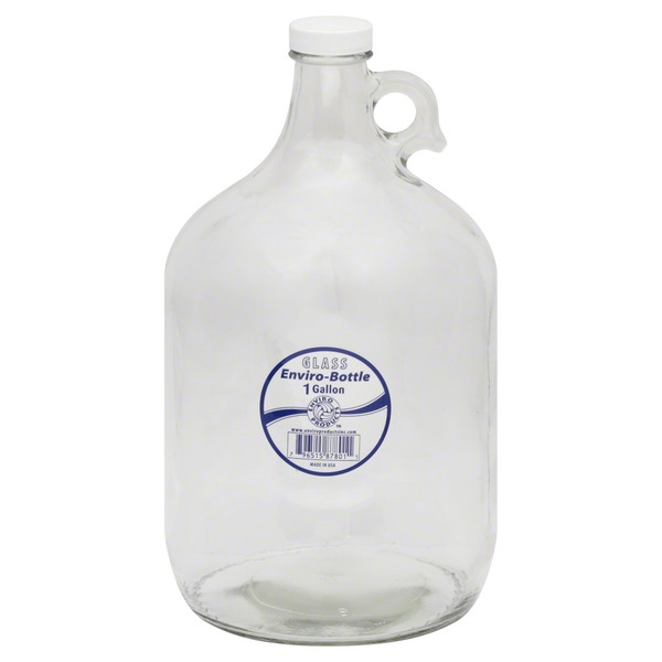 Enviro Products Enviro-Bottle, Glass, 1 Gallon