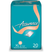 Assurance Protective Underpads XL