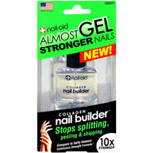 Nail-Aid Almost Gel Stronger Nails Collagen Nail Builder