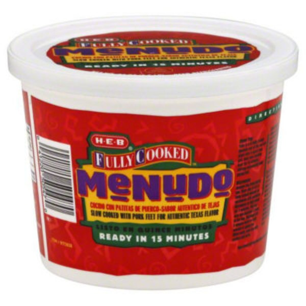 H-E-B Fully Cooked Menudo