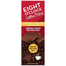 Eight O'Clock Coffee Thins French Vanilla Edible Coffee Treats