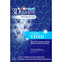 Crest 3D White Classic Vivid Whitestrips Dental Whitening Kit