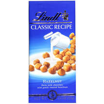 Lindt Chocolate Classic Recipe Hazelnut