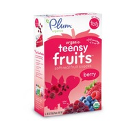 Plum Tots Teensy Fruits Berry Soft Real Fruit Snacks