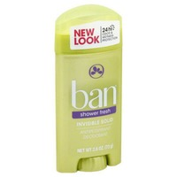Ban Shower Fresh Invisible Solid Antiperspirant/Deodorant
