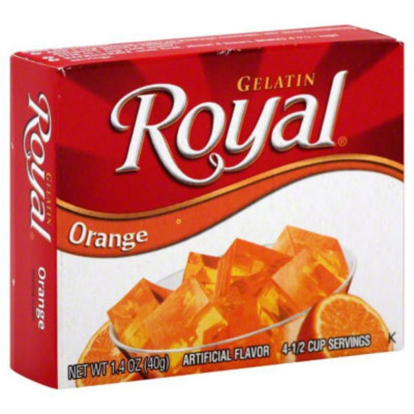 Royal Orange Gelatin