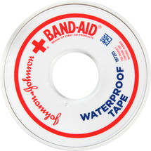 BAND-AID Brand of First Aid Products 0.5 First Aid Waterproof Tape