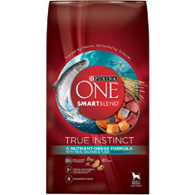 Purina ONE SmartBlend Dry Dog Food True Instinct with Real Salmon and Tuna