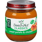 Beech Nut Sweet Potatoes & Chicken Stage 2 Baby Food