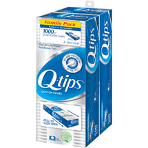 Q-Tips Cotton Swabs (Pack of 2)