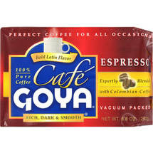 Cafe Goya Rich Dark & Smooth Espresso Coffee